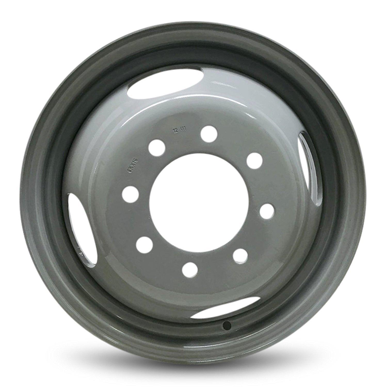 Steel Rims: Chevrolet GMC 3500 Pickup 16' 8 Lug DRW Steel Wheel/Rim RRW