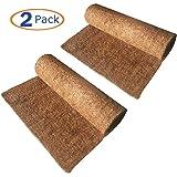 Hamiledyi Reptile Carpet Natural Coconut Fiber Tortoise Carpet Mat for Pet Terrarium Liner Reptile Supplies for Lizard…