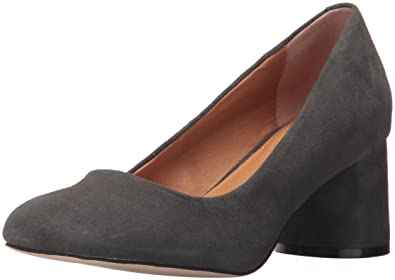 Opportunity Shoes - Corso Como Women's Briarcliff Pump, Dark Charcoal Kid  Suede, 5.5 Medium
