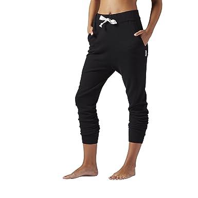Reebok mujer Yoga Jogger Pants - S93815, Negro: Amazon.es ...