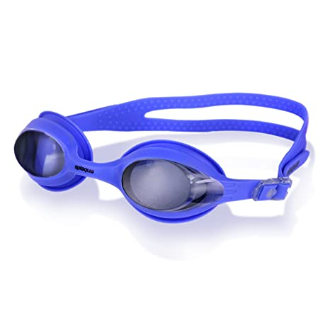 71ab99d3c6eb Image Unavailable. Image not available for. Color  Splaqua Tinted  Prescription Swimming Goggles (Blue ...