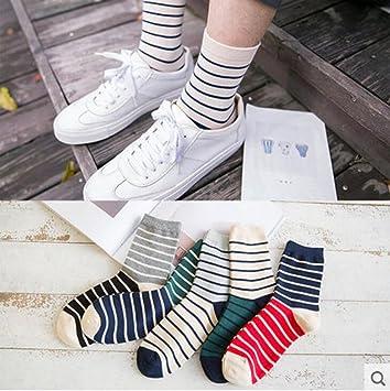 sucastle Hombres, calcetines, Hombres, algodón calcetines, en los calcetines de tubo,