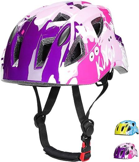 71gbrj8Zf3L. AC SL520  - Kinderhelm Fahrradhelm Rollerhelm ABS Schale Kinder Skaterhelm Verstellbar CE-Zertifizierung für Fahrrad Skateboard Scooter BMX 3-13 Jahre Alt...