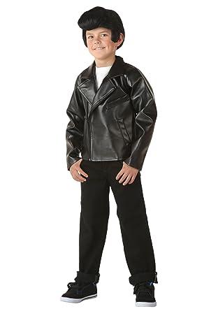 dcce5bde3 Fun Costumes Big Boys' Grease T-Birds Danny Costume Jacket X-Small (