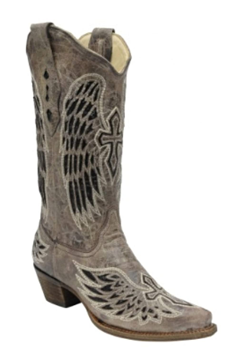 - Corral Wing & Cross Sequence Boots