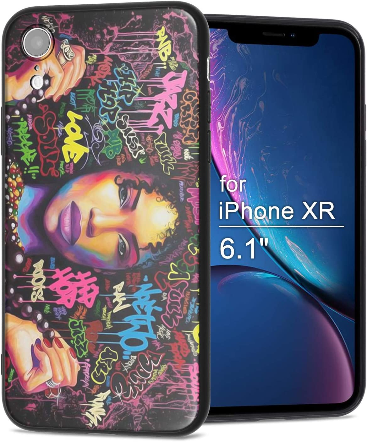 Amazon Com Iphone Xr Case African American Afro Girls Women Slim Fit Shockproof Bumper Cheap Cell Phone Accessories Thin Soft Black Tpu Protective Apple Iphone Xr Cases 04