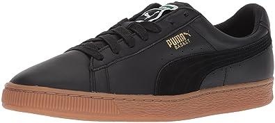 f9d7274f427 PUMA Men s Basket Classic Gum Deluxe Sneaker