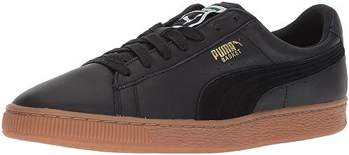 promo code 7c9fc 4403c Amazon.com | PUMA Men's Basket Classic Gum Deluxe Sneaker ...