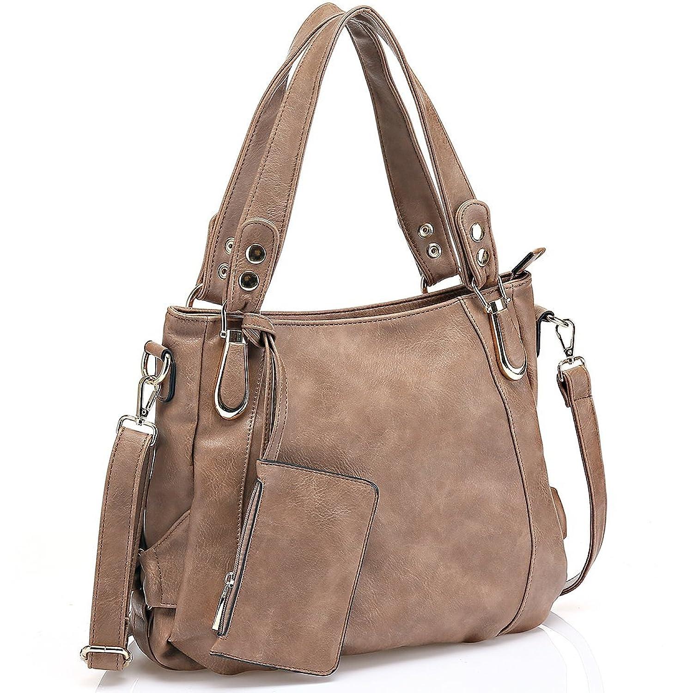 JOYSON Women Handbags Women Bags Tote Shoulder PU Leather Bags
