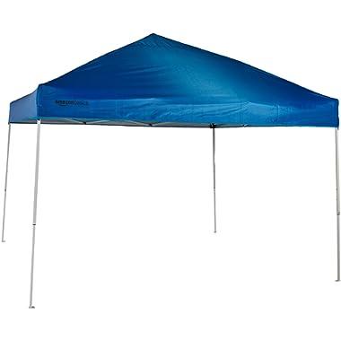 AmazonBasics Pop-Up Canopy Tent - 10' x 10', Blue