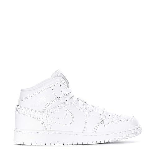 d1d4c306ba Nike Air Jordan 1 Mid (GS), Sneaker a Collo Alto Bambino: Amazon.it ...