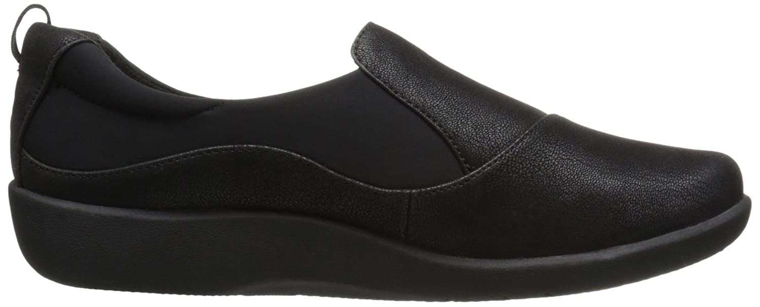 Clarks Damens's Loafer, CloudSteppers Sillian Paz Slip-On Loafer, Damens's schwarz Synthetic Nubuck, 10 W US 62c462