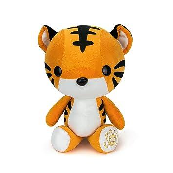 Amazon Com Bellzi Orange Tiger Stuffed Animal Plush Toy Adorable