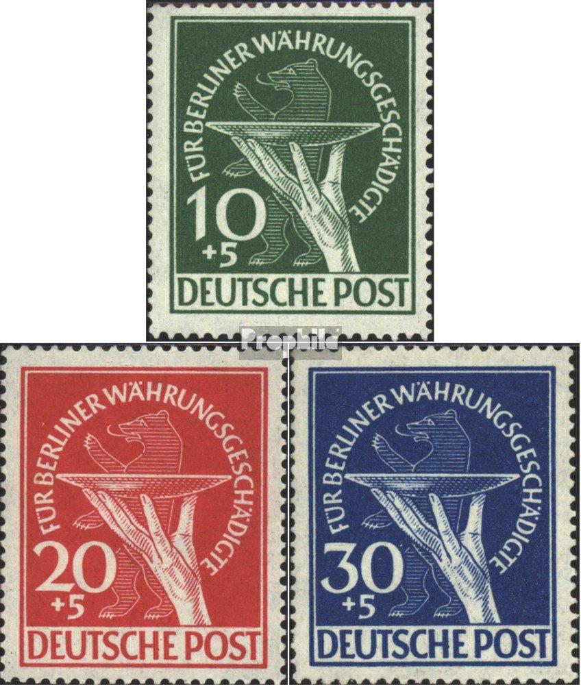 Prophila Collection Berlin (West) 68-70 (kompl.Ausg.) 1949 für Währungsgeschädigte (Briefmarken für 1949 Sammler) 561711