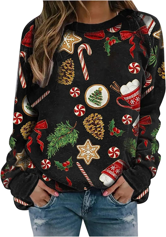 BANDANA Womens Pumpkin Cat Sweatshirt Casual Loose Fit Graphic Halloween Crewneck Sweater Long Sleeve Tops Plus Size