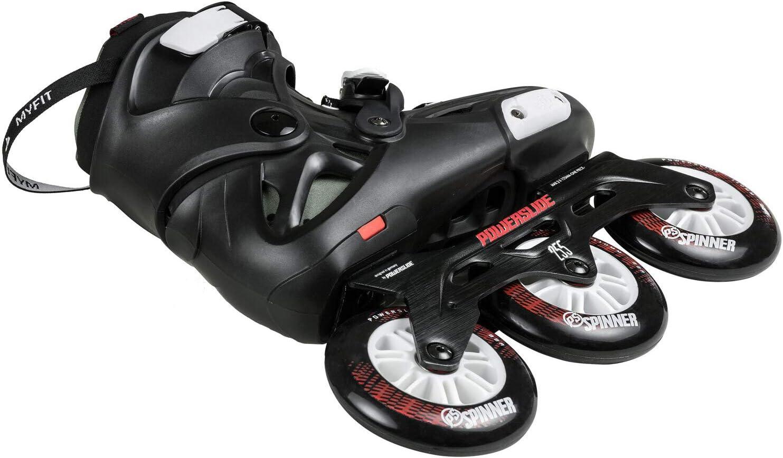 Powerslide Roller freeskate Imperial 110 Black Crimson Noir