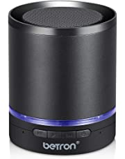 Betron A3 Bluetooth Wireless Speaker for iPhone, iPod, iPad, Samsung, Smartphones, Tablets and more