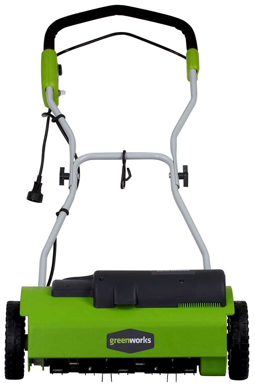GreenWorks 27022 10-amp 14-inch Corded Dethatcher Review