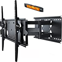 "Selby TV Bracket Wall Mount Full Motion Tilt Swivel Pivot Black for 37-60"" Inch"