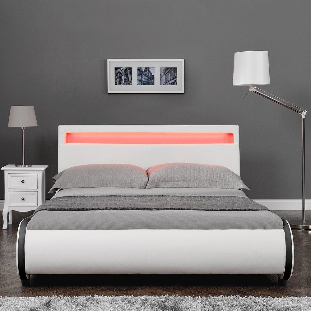 Corium LED Polsterbett \
