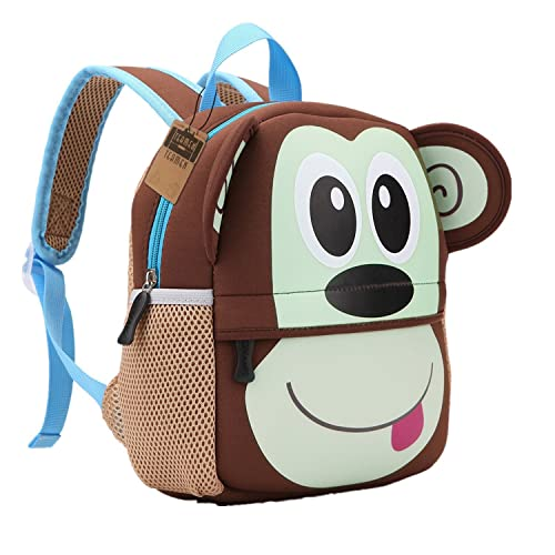 Teamen Children's school backpack, animal design, for children 2-6years old