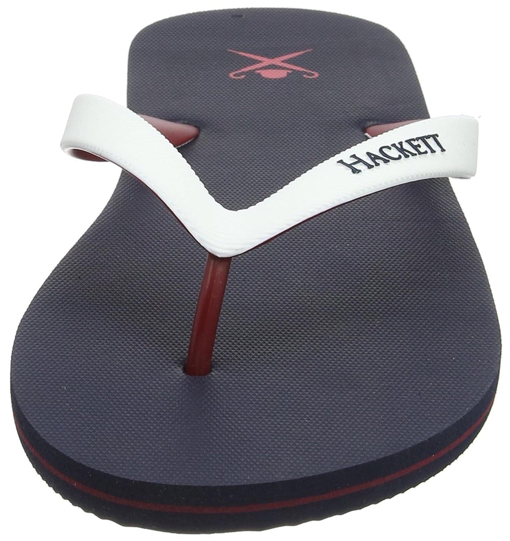 Hackett London Herren Plain Logo Zehentrenner: Amazon.de: Schuhe &  Handtaschen