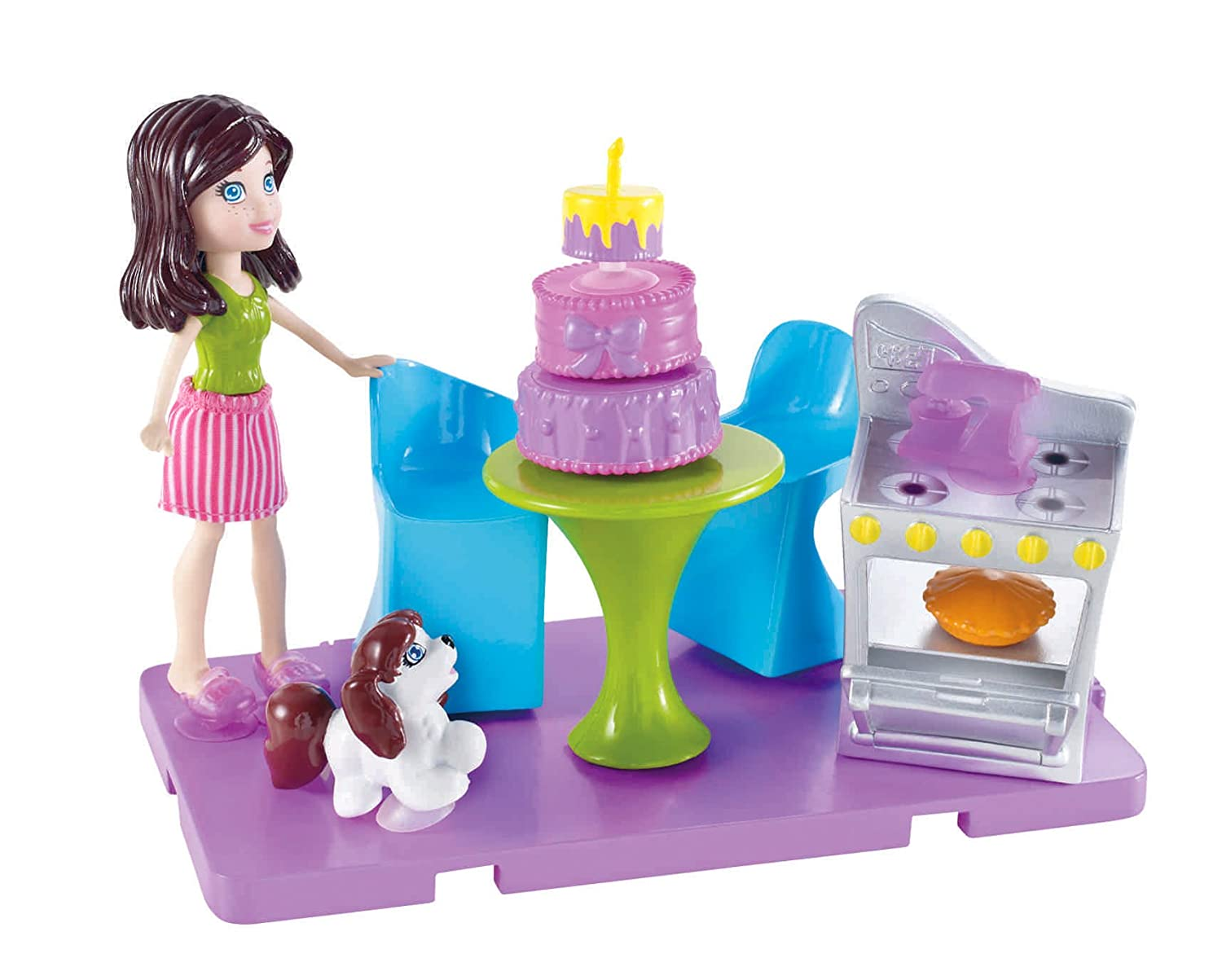 Polly Pocket Stick N Play Polly Game Room Playset – Top ...