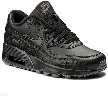 Nike Air Max 90 Leather | Noir | Baskets | 302519 001