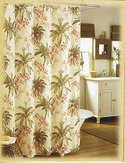 Amazon.com: allen + roth Howell Navy Shower Curtain: Home & Kitchen