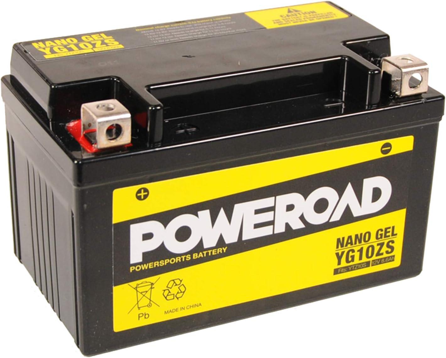 Gel Batterie 12v 8 6 Ah Yg10zs Ytz10 S Für Motorrad Inkl 7 50eur Pfand Auto