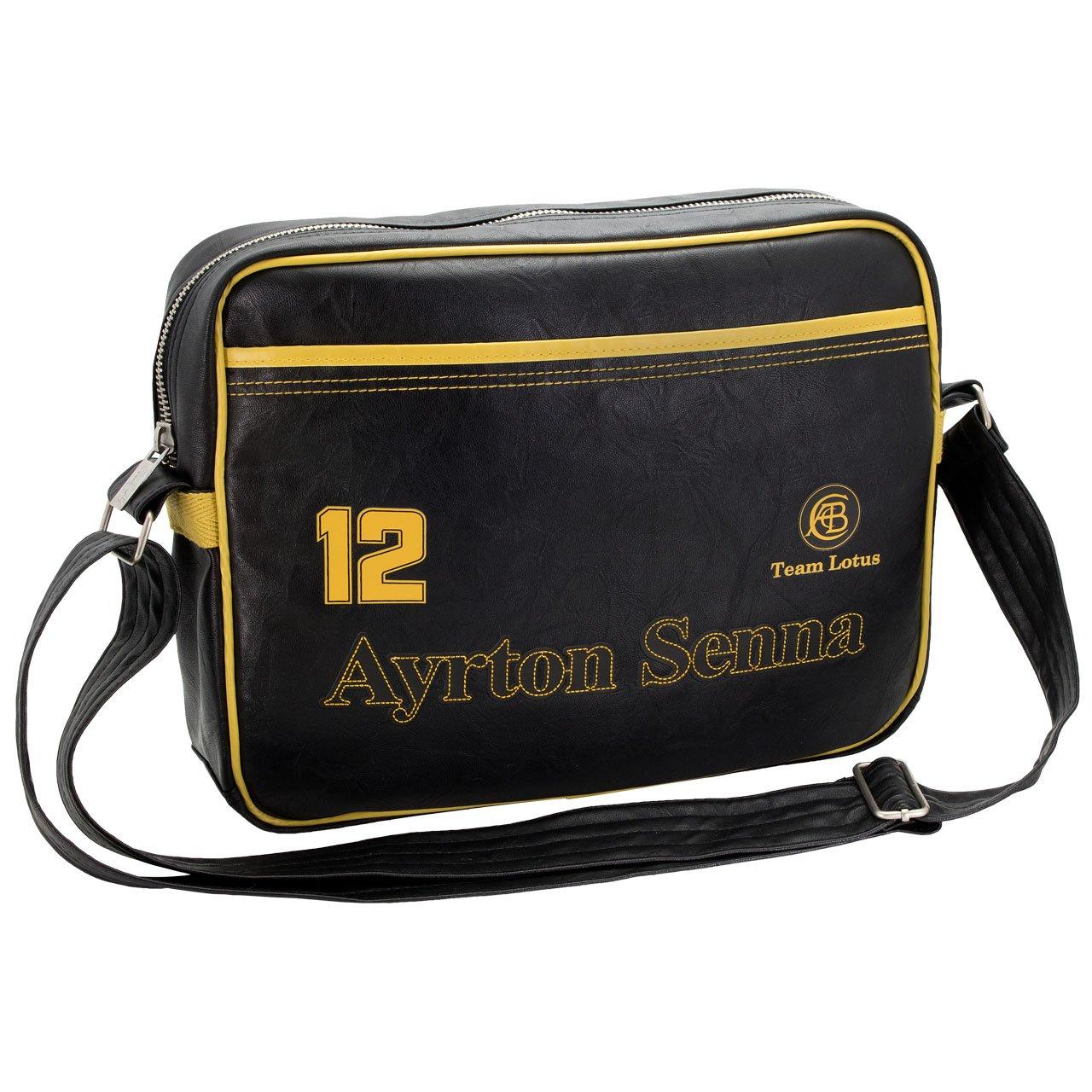 Ayrton Senna Campus Bag Classic Team Lotus MBA-Sport AS-15-859