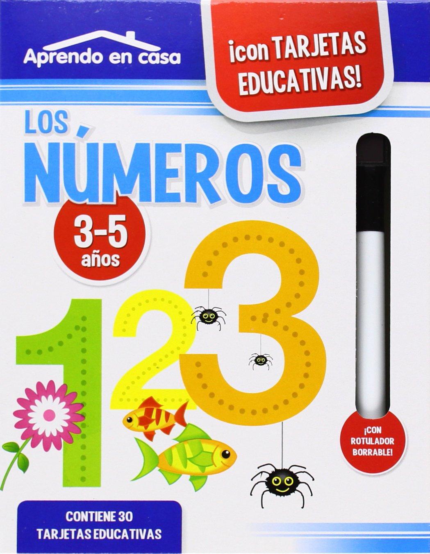 Aprendo en casa con tarjetas educativas: lo números: VV.AA ...