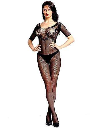 5406a6439b2 Firefly Secret Sexy Long Sleeve Bodystocking Lingerie Babydoll Crotchless  (XXS