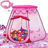 Le Papillon Pink Princess Tent Kids Ball Pit Deals