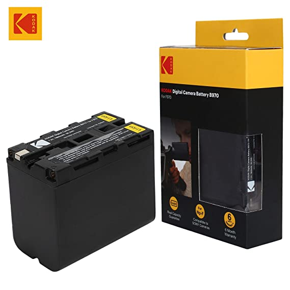 KODAK B970 F970 7.2V 7800mAh 56.2Wh Digital Camera Battery