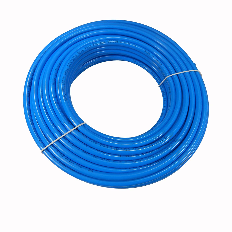 PA Schlauch PA 12 Polyamidschlauch Pneumatikschlauch Rolle 5 Meter 10 mm x 8 mm Blau Schlauch24