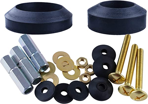 washers and hardware for leaking tank valve