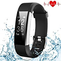 Fitness Tracker, Kybeco Elegant Waterproof Heart Rate Monitor Activity Tracker Bluetooth Wearable Wristband Wireless Step Counter Smart Bracelet Watch for Android and IOS Smartphones