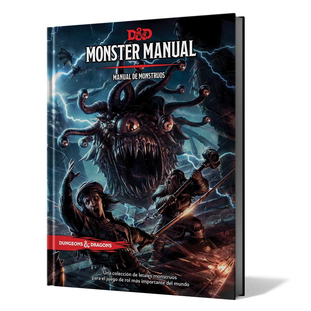 MONSTER MANUAL: MANUAL DE MONSTRUOS: AA.VV.: Amazon.es: Juguetes y juegos