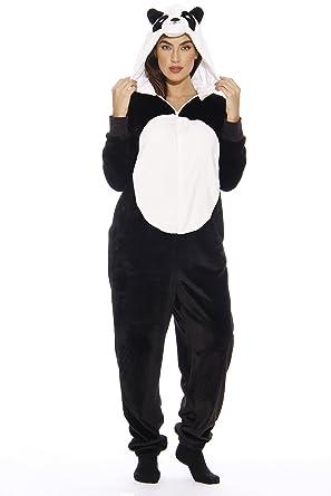 d63590d5869d Amazon.com  Just Love Panda Adult Onesie Pajamas  Clothing