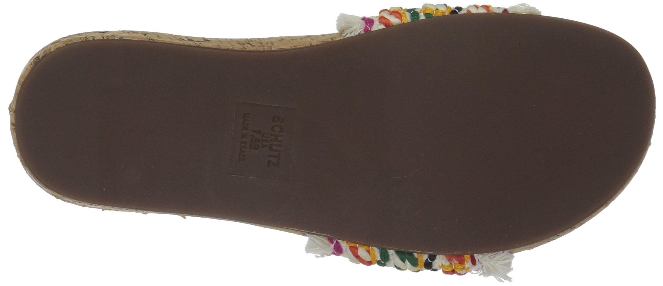 Schutz Women's KAHARA Slide Sandal, Multi, 9 M US by Schutz (Image #3)