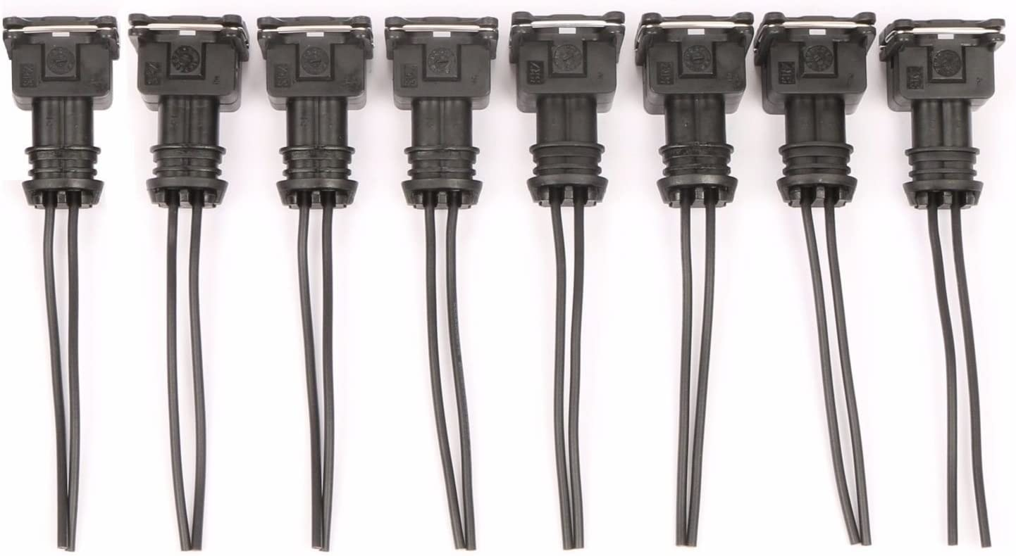 HFP-EV6-P Fuel Injector Adapter Pigtail Connector Plug Clip EV6 QTY 1