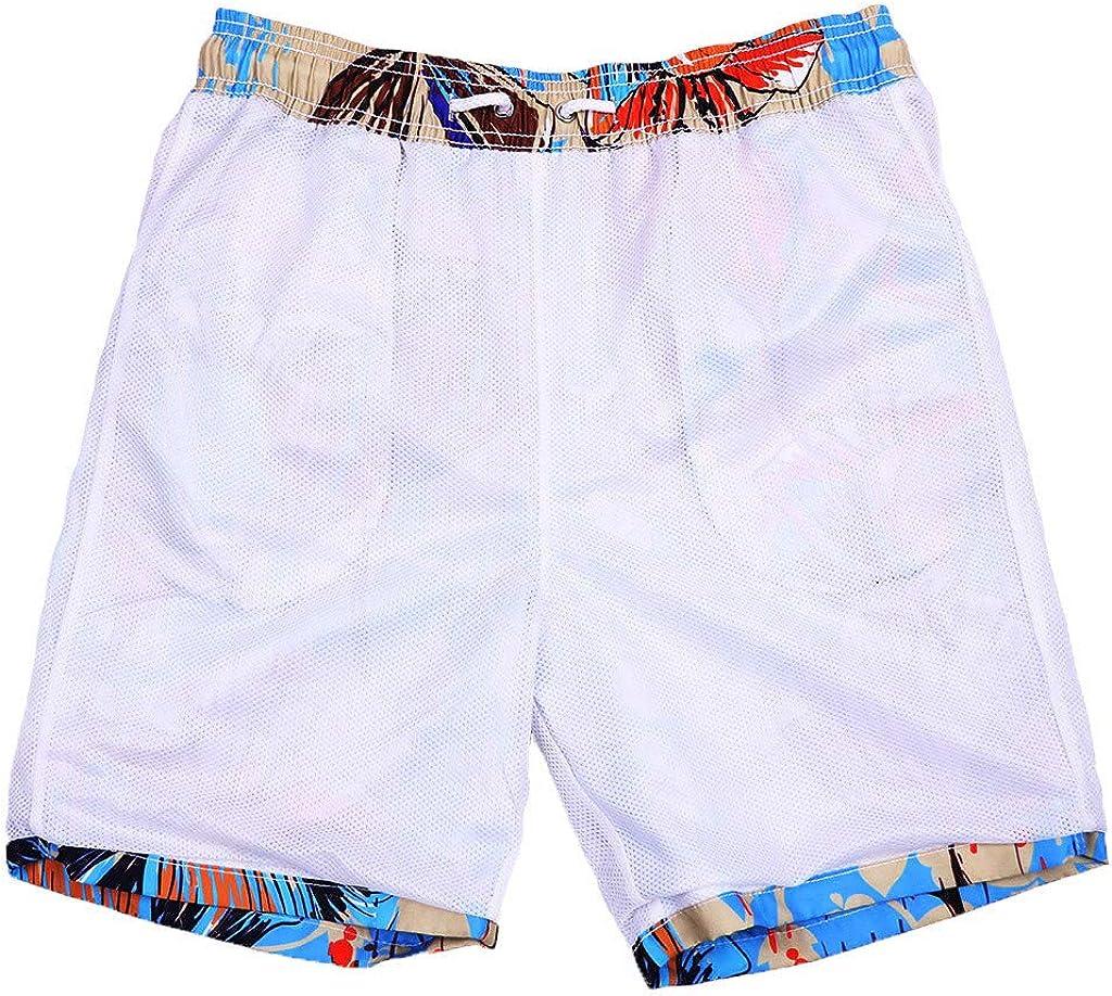 Huaa Athletic Short Bargain Shorts Trunks Mens Shorts Swim Trunks Quick Dry Beach Surfing Running Swimming Watershort