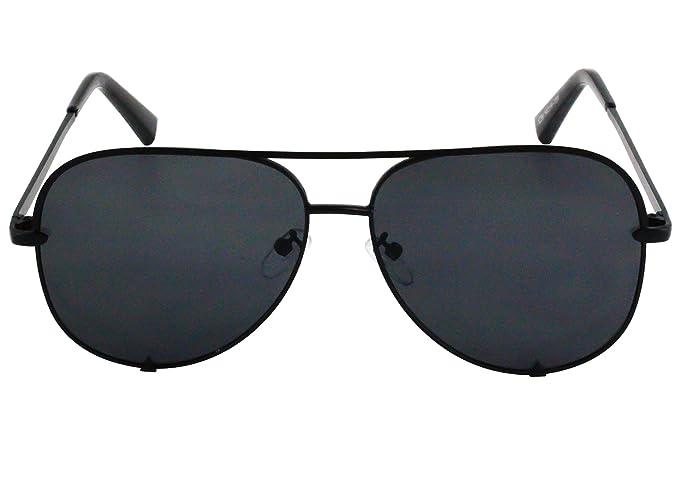 Amazon.com: Flawless – Gafas de sol clásicas de gran tamaño ...