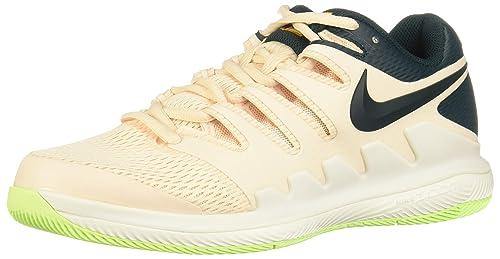 7525f3c99 Nike Wmnsair Zoom Vapor X HC, Scarpe da Ginnastica Basse Donna, Multicolore  (Guava