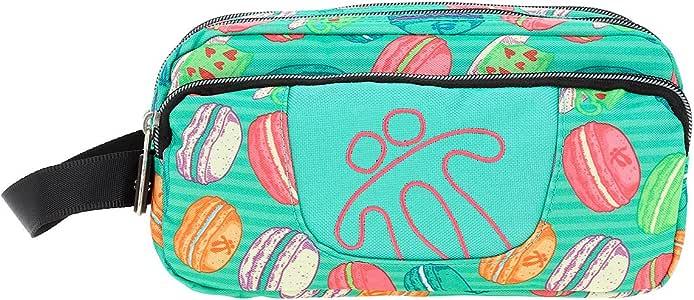 TOTTO Agapec AC52ECO009-1710Z-6VB Estuche Escolar Tres Compartimentos, 23 cm, Multicolor (6VB): Amazon.es: Oficina y papelería