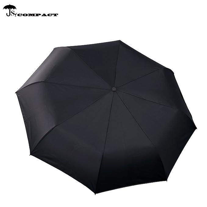SY paraguas resistente al viento automš¢tico de viaje compacto ligero irrompible umbrellas-factory directa alta rentable paraguas: Amazon.es: Equipaje