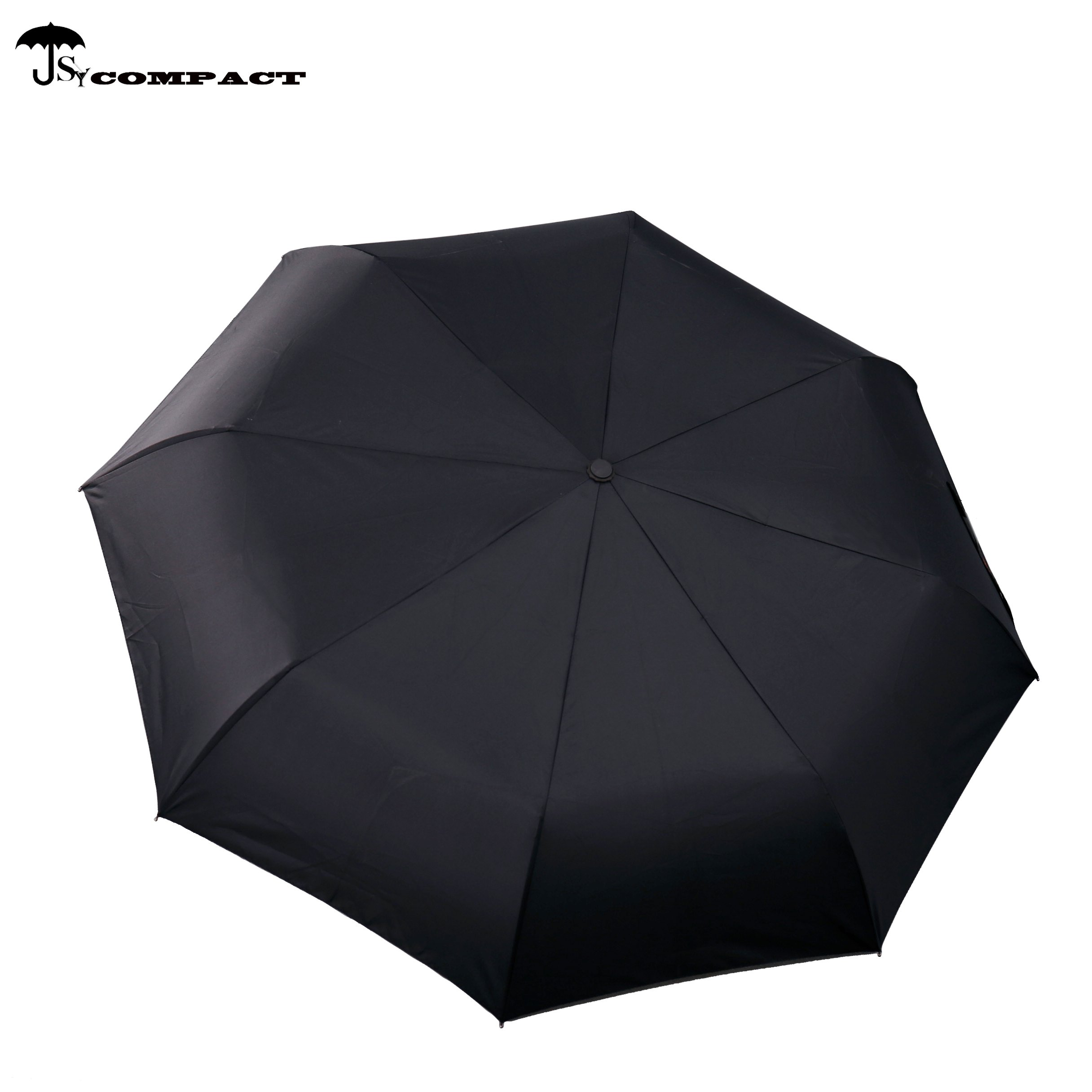 SY COMPACT Travel Umbrella Windproof Automatic Lightweight Unbreakable Umbrellas-Factory Outlet Umbrella (Black) by SY COMPACT (Image #3)
