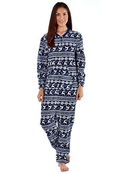 Selena Secrets - Pijama de forro polar de una pieza, con capucha: Amazon.es: Ropa y accesorios