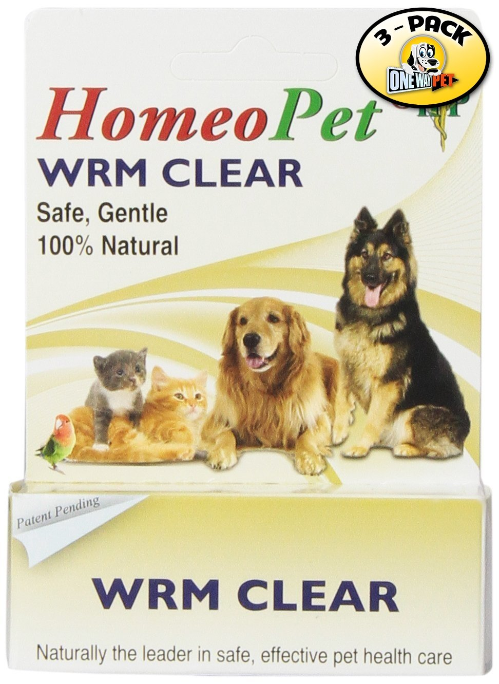 HomeoPet WMR Clear (Pack of 3)